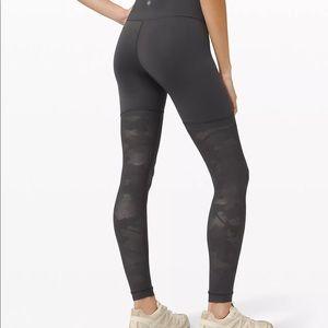 """NWT Lululemon sheer will high-rise leggings 28"""""""